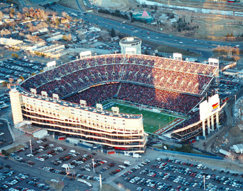 Old Mile High Stadium Seats http://football.ballparks.com/NFL/DenverBroncos/index.htm
