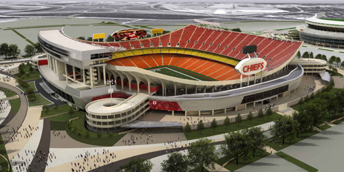 New Arrowhead Stadium
