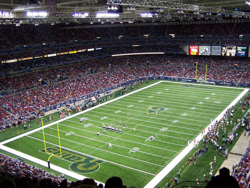 Edward Jones Dome Field